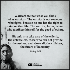 Sitting Bull saying